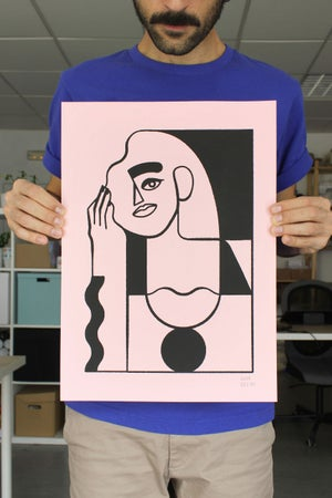 Image of PINK WOMAN