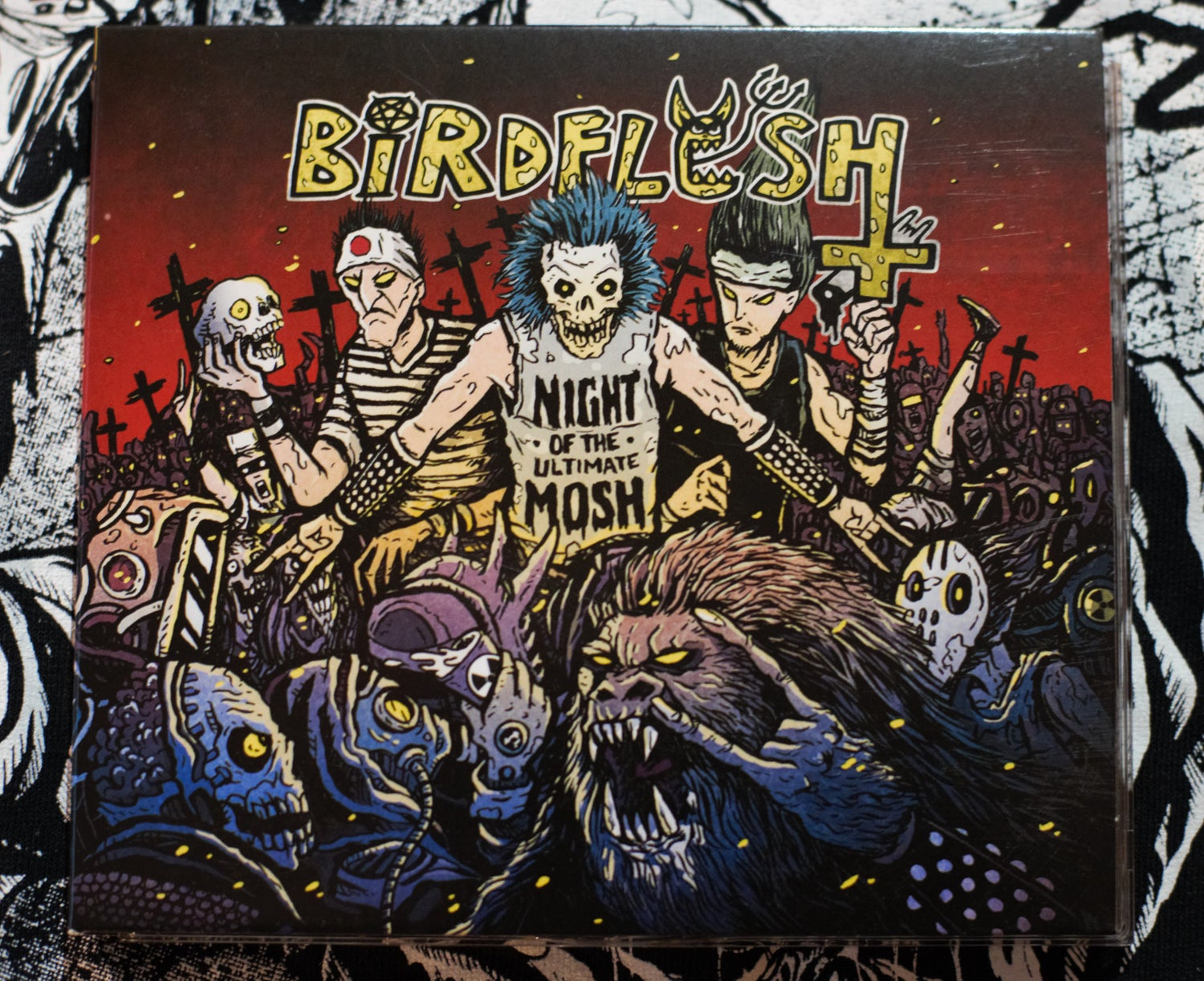 Image of NIGHT OF THE ULTIMATE MOSH CD
