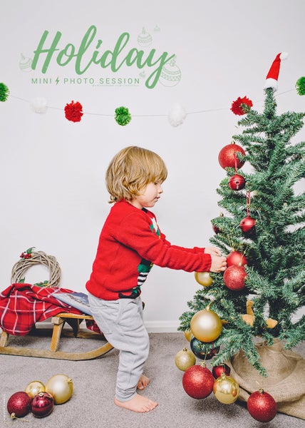 Image of Deck The Halls Mini Session Deposit