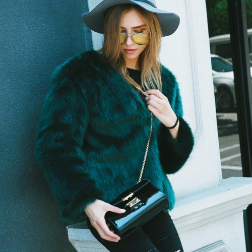 Image of Lisa Faux Fur