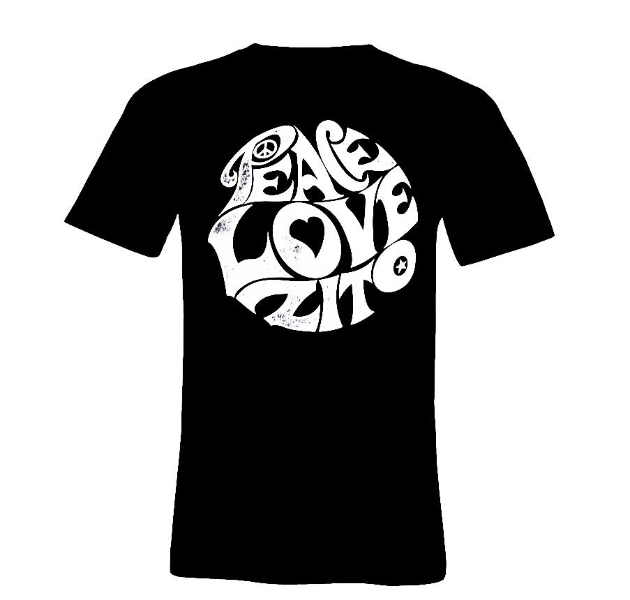 Image of NEW Peace Love Zito 70's Vintage Shirts