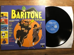 Image of Baritone Tiplove - Amazing Stories Vol. 2 - DWG exclusive 140g black vinyl BUNDLE (limited to 50)