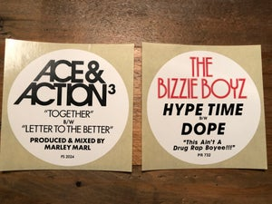 Image of DWG x Mr Krum - Hype Stickers Pack 1 (10 stickers)