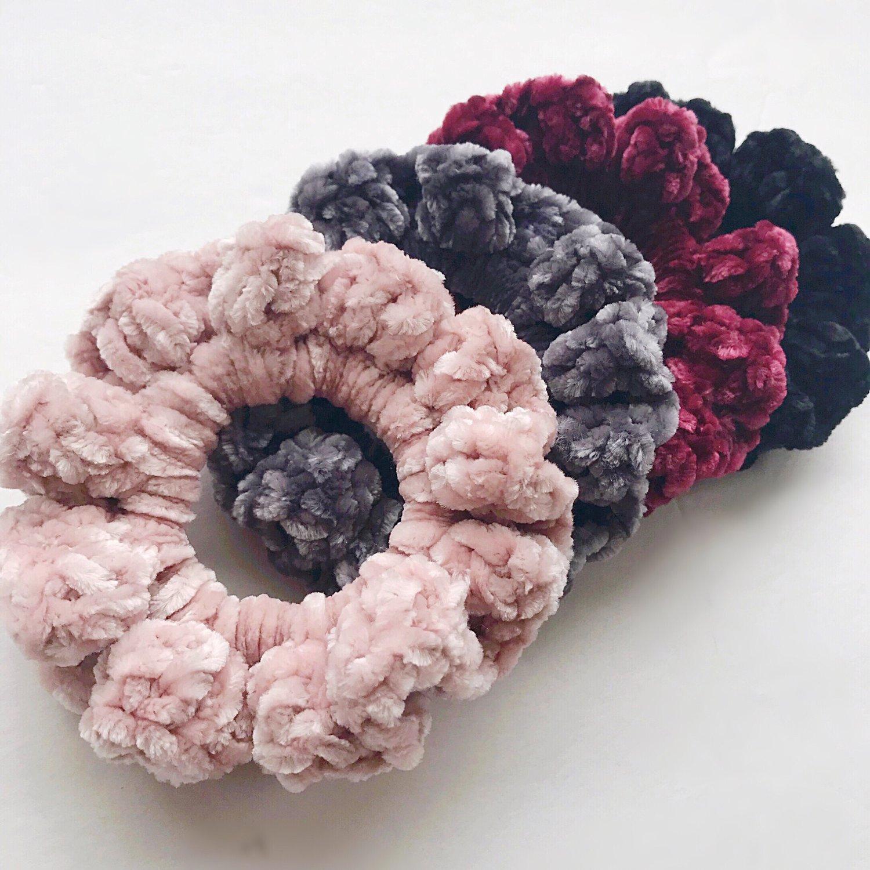 Image of Crushed Velvet Scrunchie
