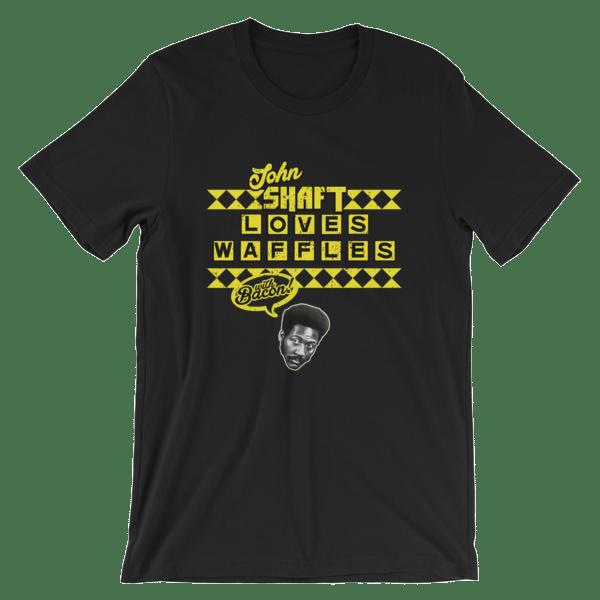 Image of OG - John Shaft Loves Waffles - The Shirt!
