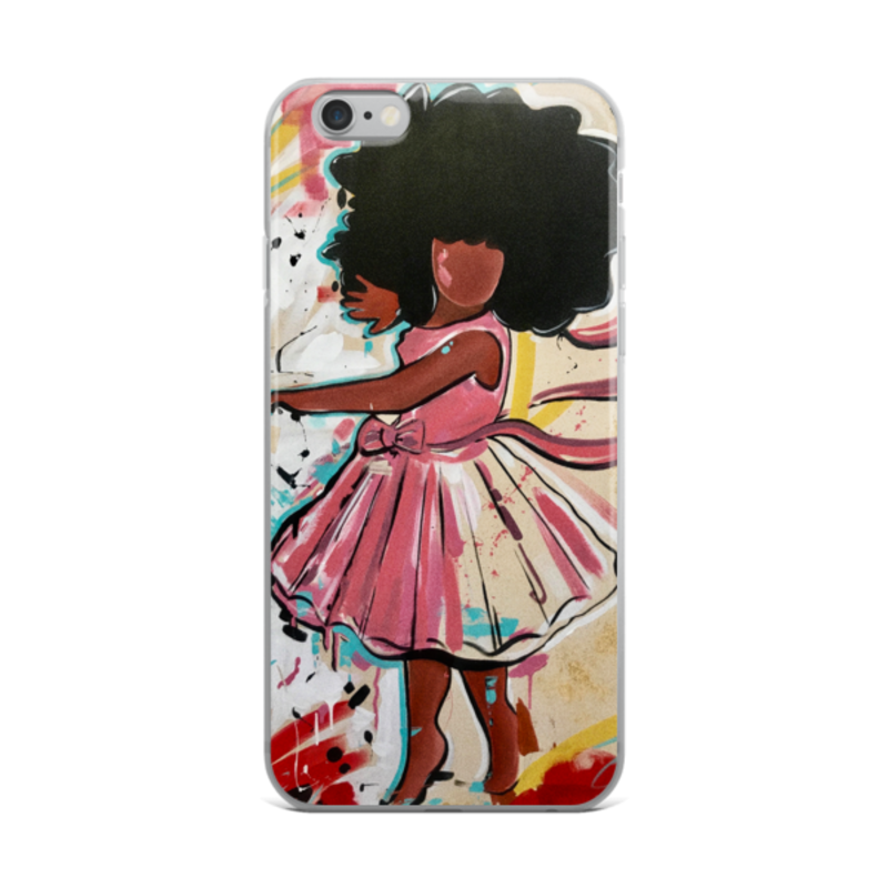 Image of Baby Girl iPhone Case