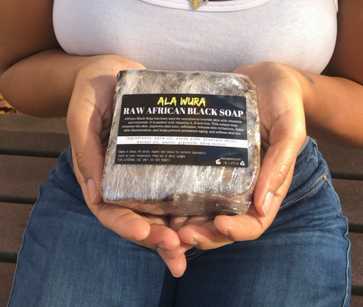 Image of RAW AFRICAN BLACK SOAP - 1 LB.