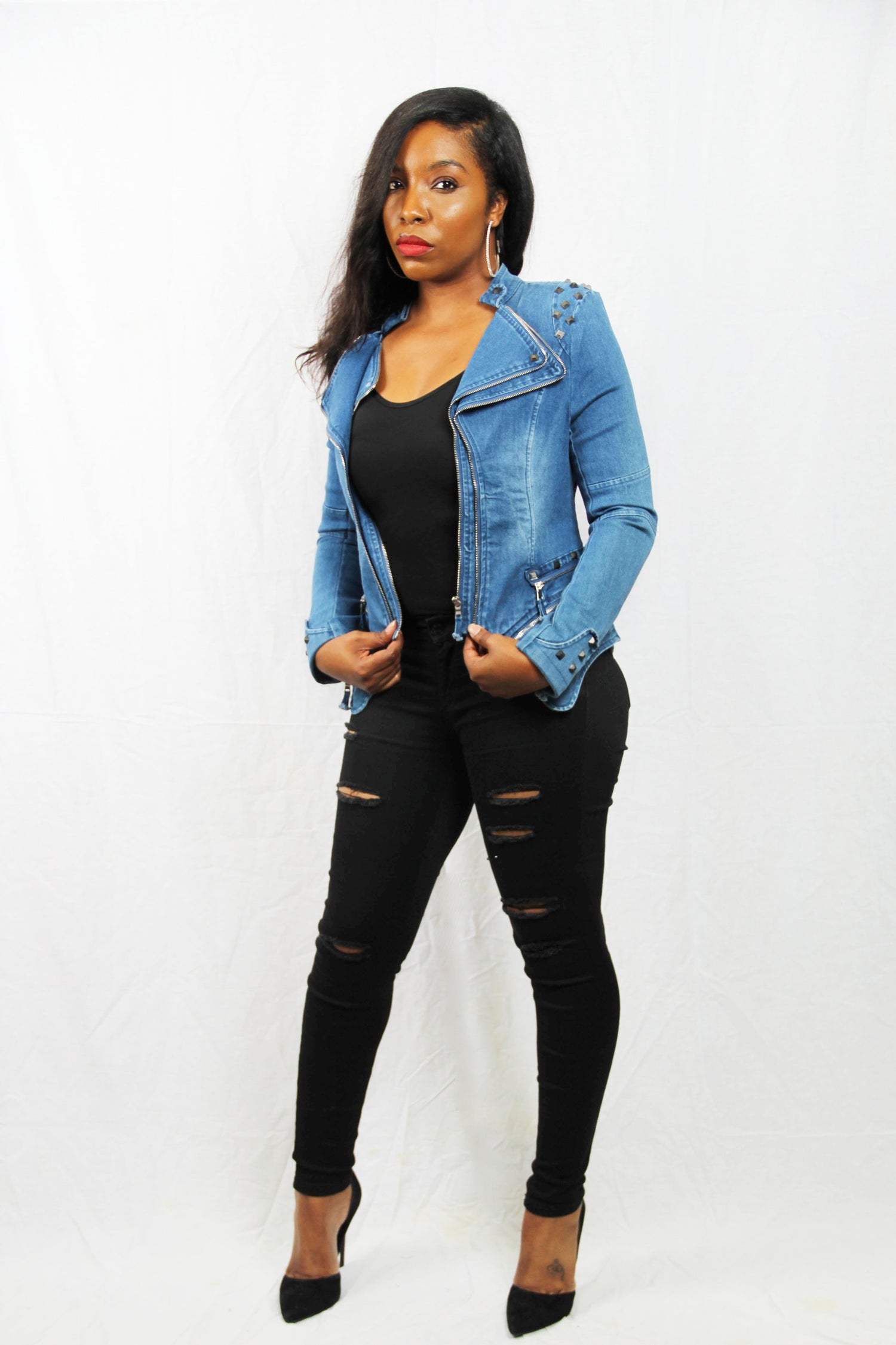 Image of Not just your ordinary jean jacket