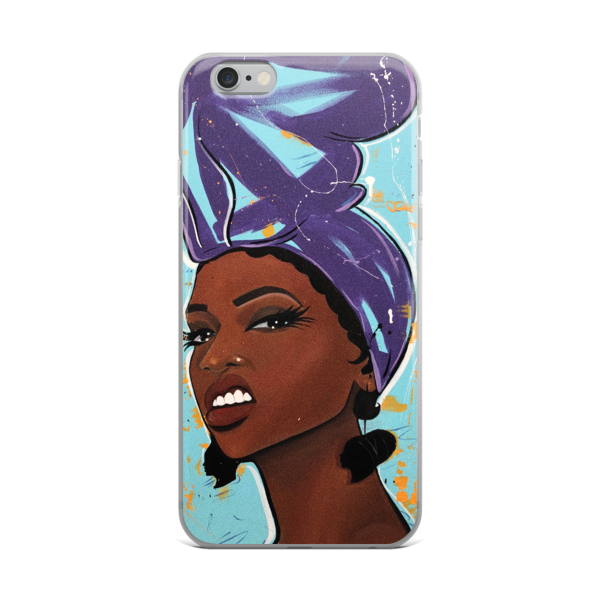 Image of Purple Try Me iPhone Case