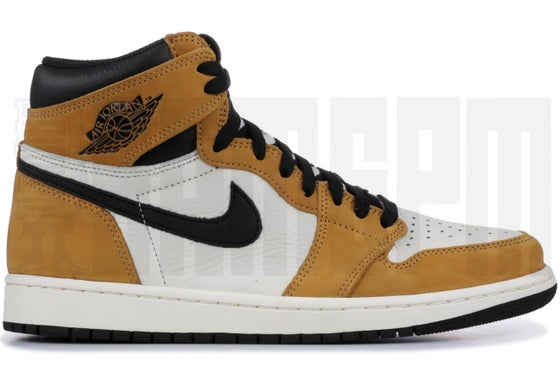 "Image of Nike AIR JORDAN 1 RETRO HIGH OG ""ROOKIE OF THE YEAR"""