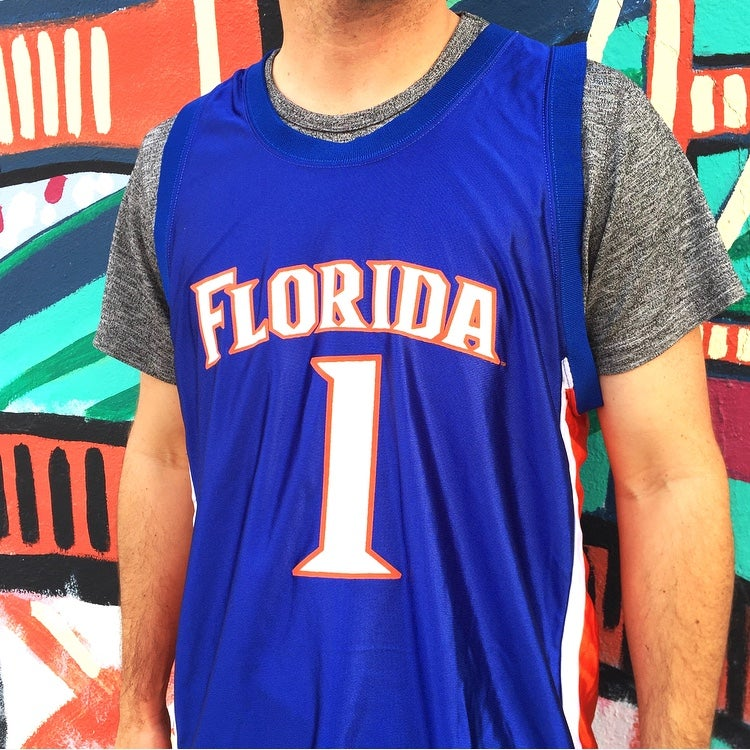 Image of 2000's Florida Gators Anthony Roberson Basketball Jersey Sz.M