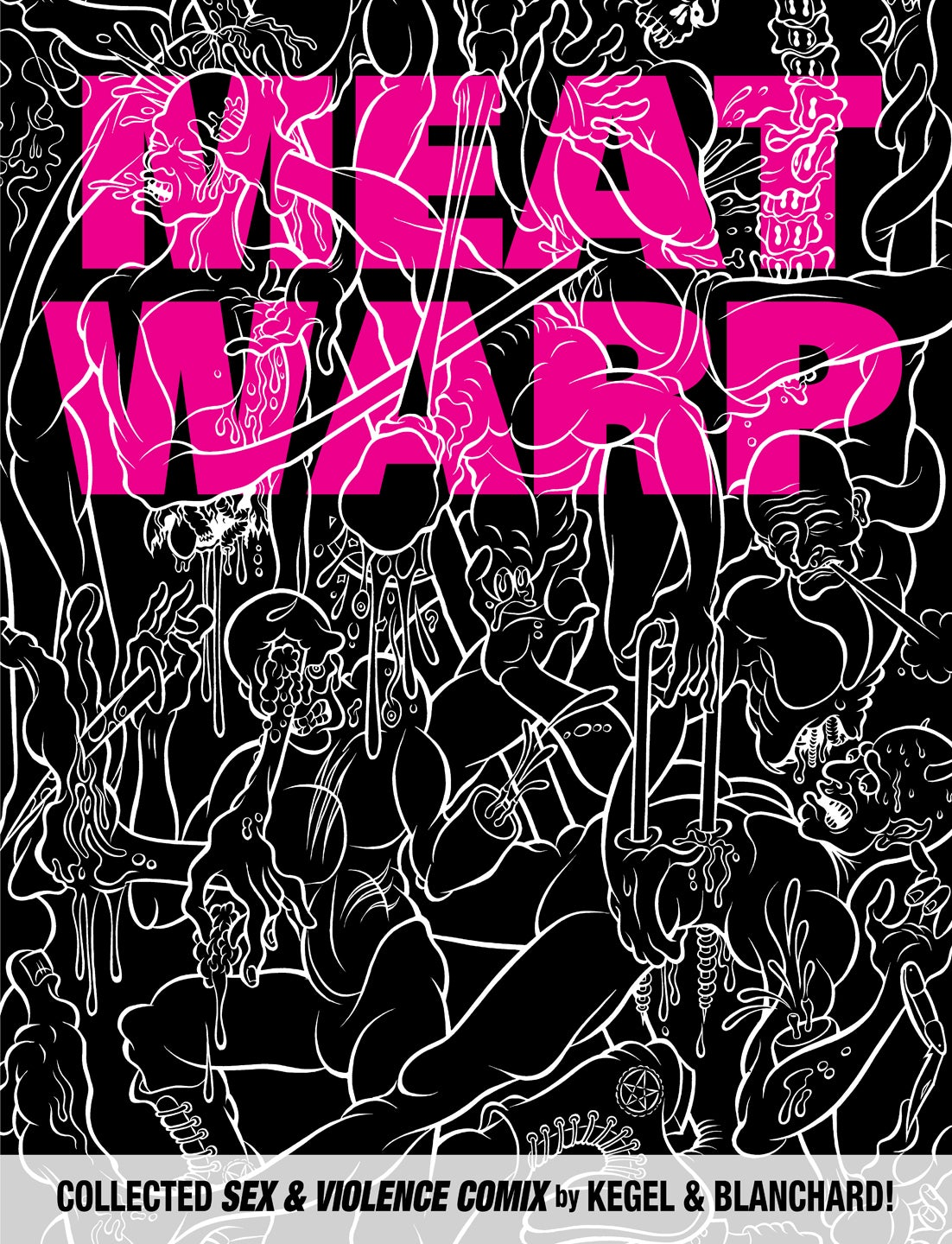 Image of MEAT WARP art book
