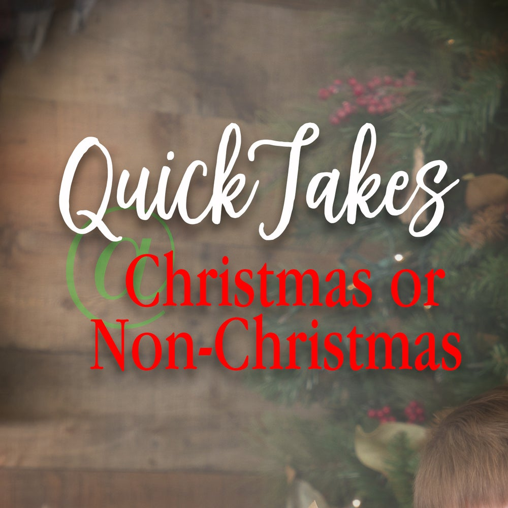 Image of InStudio Christmas or Non-Christmas Quick Takes