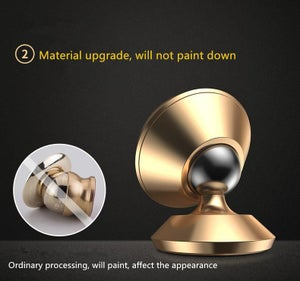 GOLD MAGNETIC PHONE MOUNT