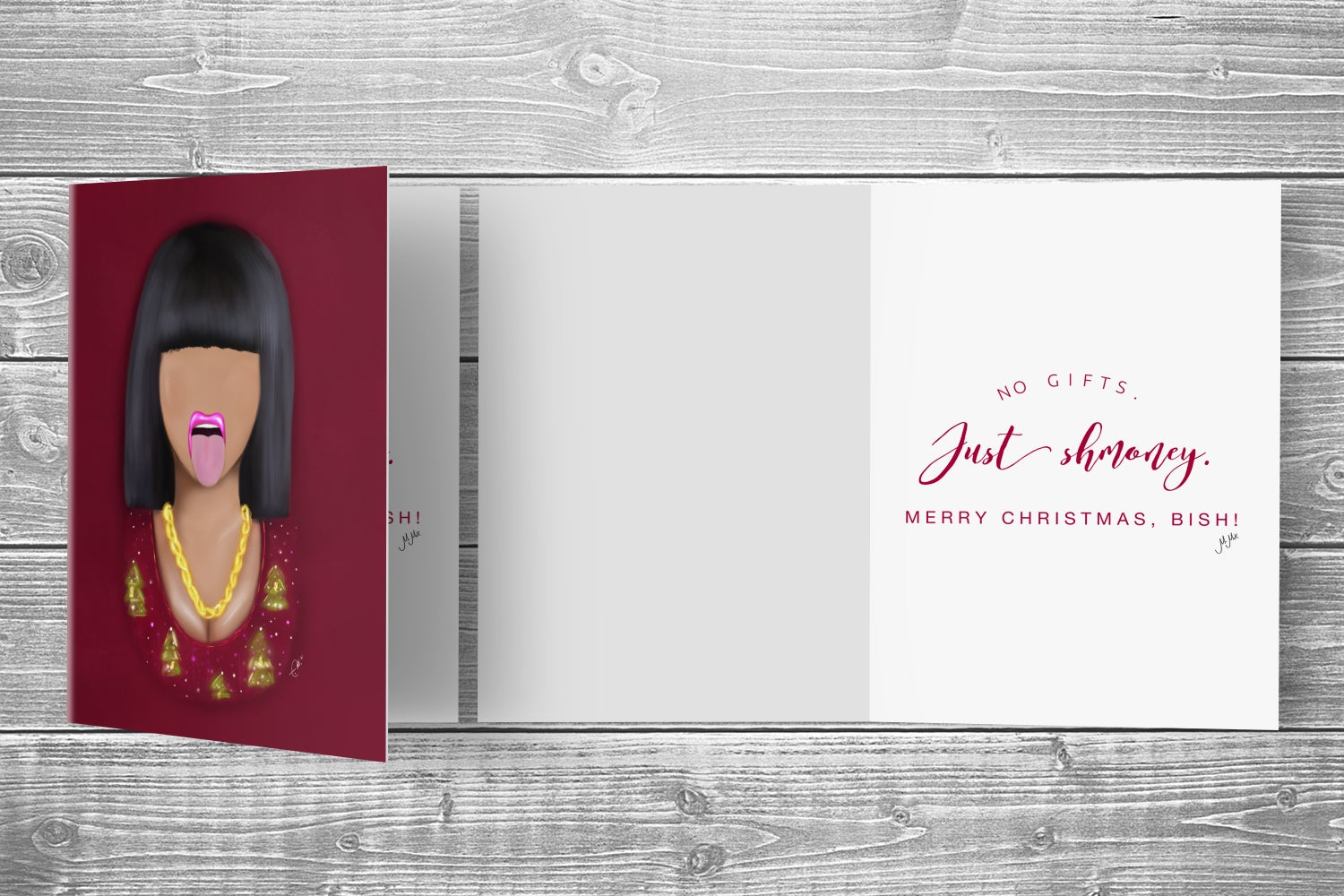 Image of CARDI CHRISTMAS CARD