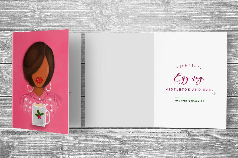 Image of MOLLY CHRISTMAS CARD