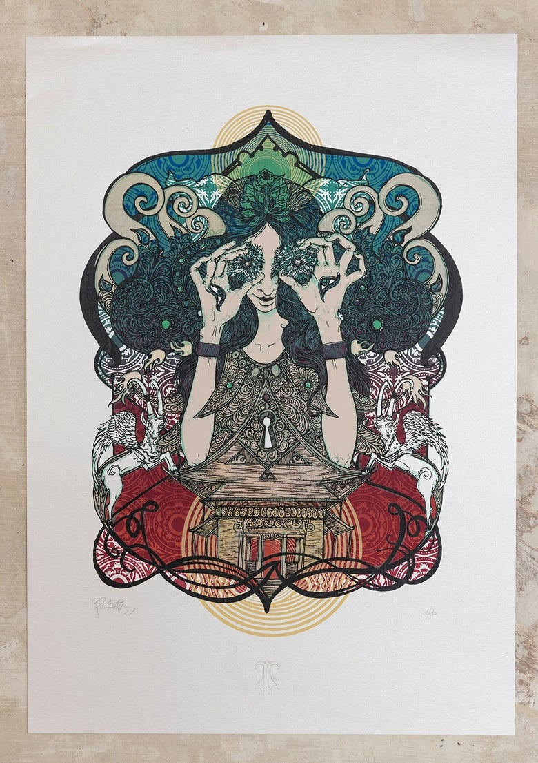 "Image of ""Light Temple"" ArtPrint"