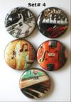 Musical Instrument Flair Buttons