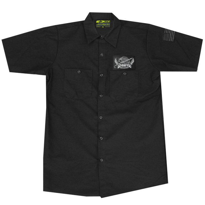 Image of No Boundaries Crew Shirt (black)
