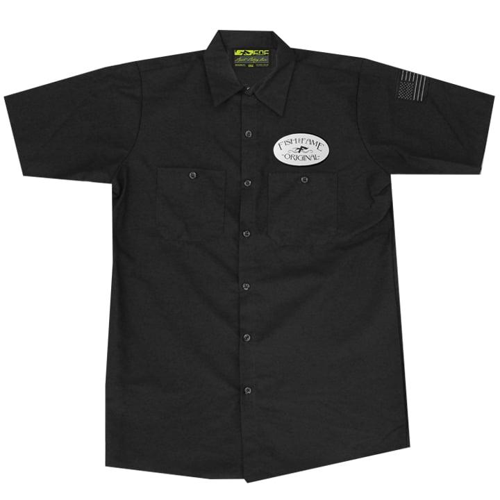 Image of Rock On Crew Shirt (black)