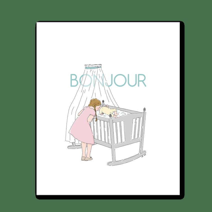 Image of Bonjour bébé!