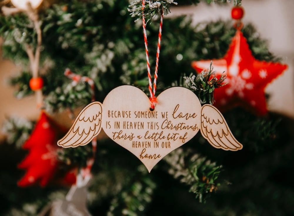 Image of Heaven Christmas Ornament