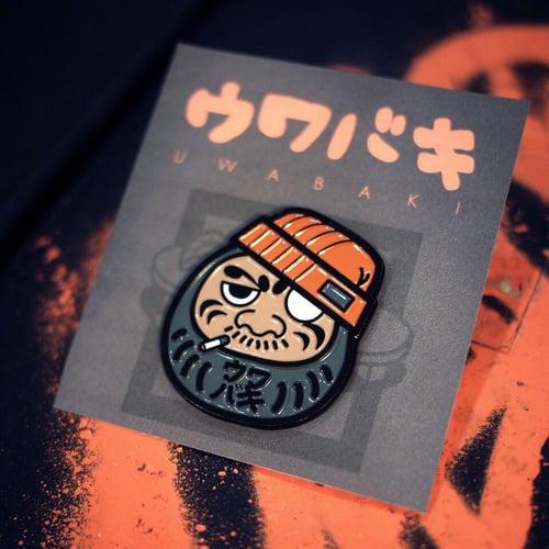 Image of UWABAKI DARUMA PIN