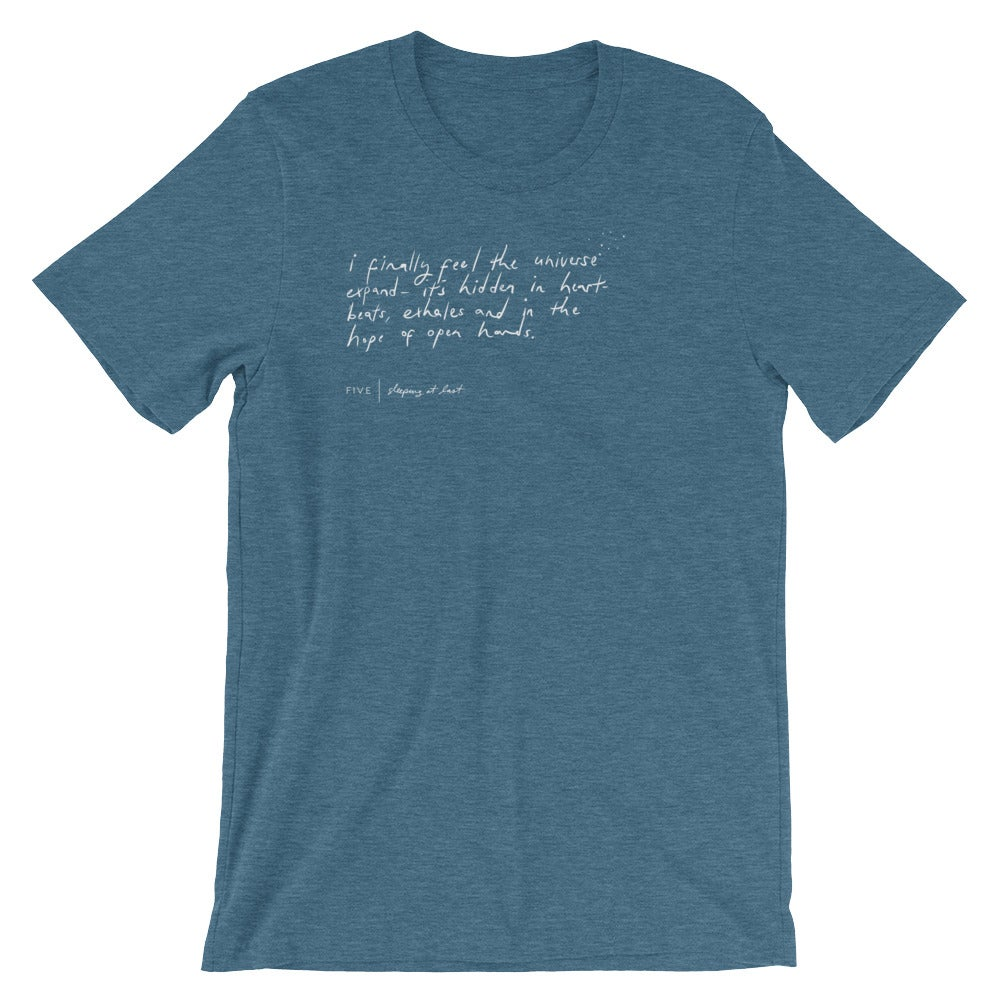 "Image of ""Five"" Handwriting Shirt"