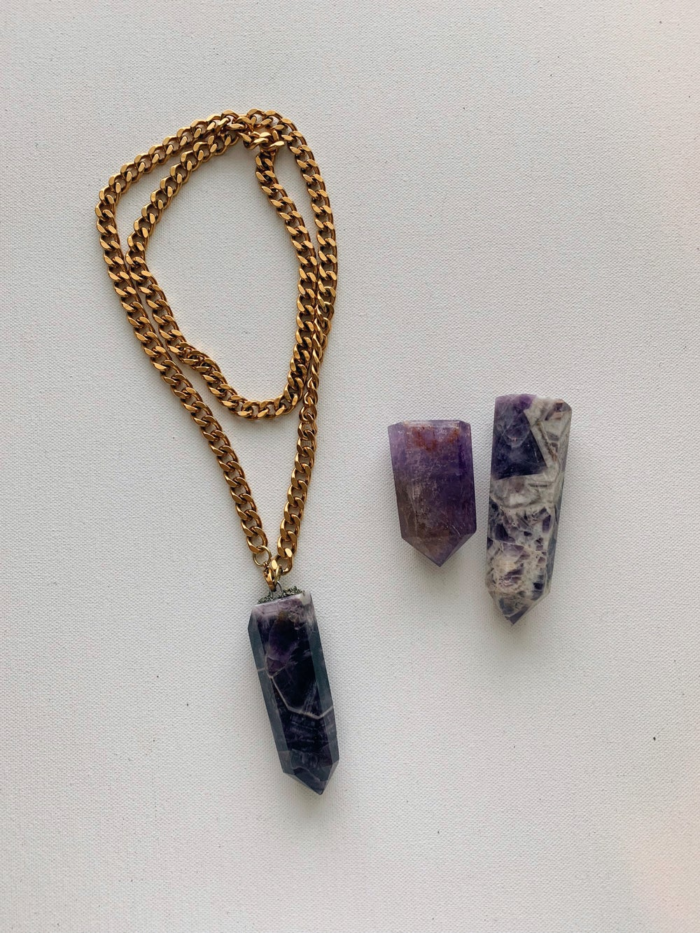 Image of Double Layer Amethyst • SAMPLE SALE