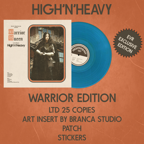 "Image of HIGH N' HEAVY - WARRIOR QUEEN Ultra Ltd ""Warrior Edition"""