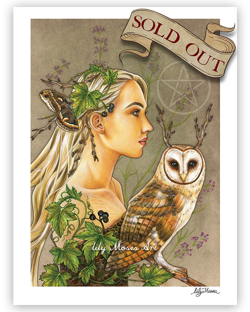 Image of White Witch Print