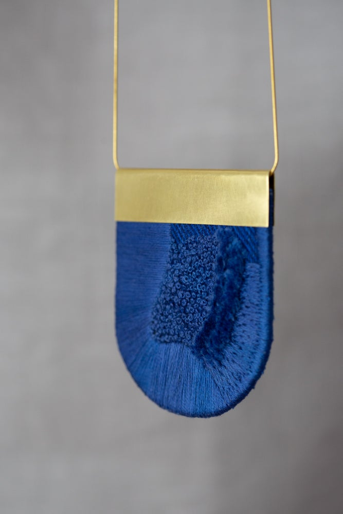 Image of LUXE pendant in Cobalt Blue