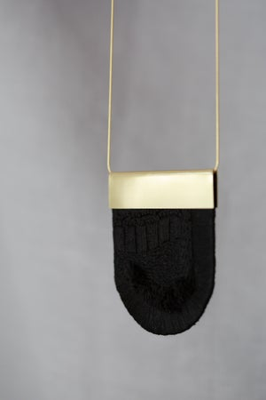 Image of LUXE pendant in Coal