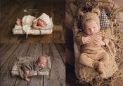 Image of Sweet Dreams Wire Newborn Bed - Mattress Included - Vintage Style - NEW!