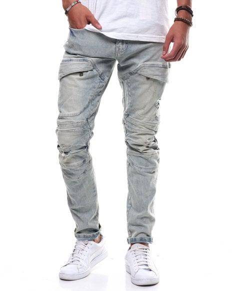 Image of Slim Futuristic Jean by SMOKE RISE