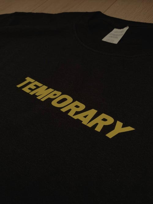 "Image of ""TEMPORARY"" LONG SLEEVE T SHIRT"