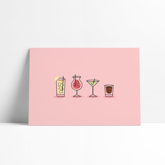 Image of Fancy a Drink? Postcard Print