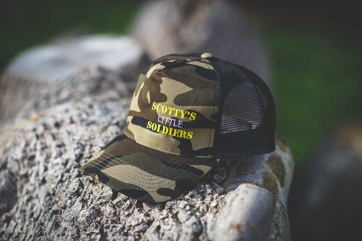 Image of Camo Trucker Cap