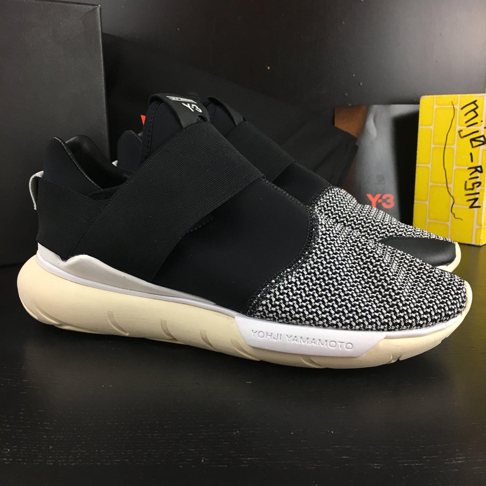 PADS Adidas Y-3 Qasa Low II Men size 8