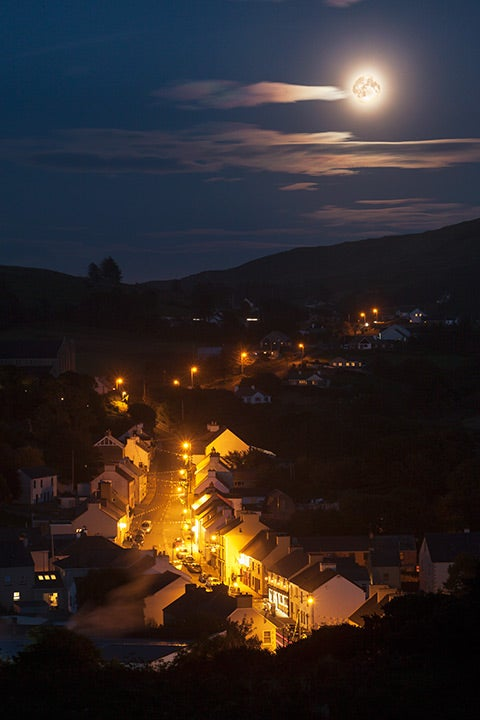 Image of Limited Edition: Harvest Moon over Kilcar