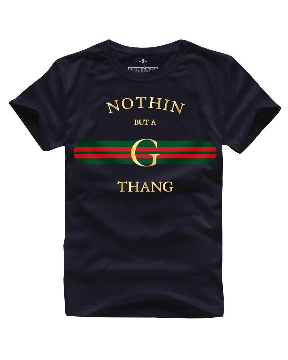 G-THANG TEE BLACK
