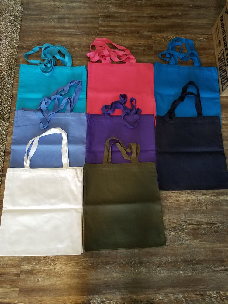 Image of Canvas Tote Bags
