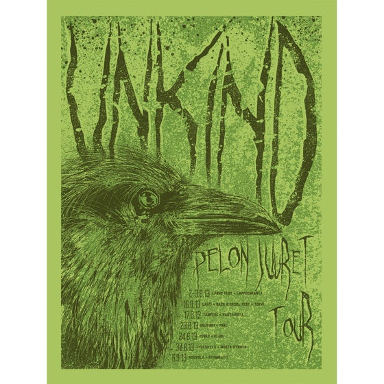 Image of Unkind - Scandinavia 2013 posters
