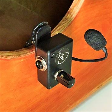 Image of Cajon Microphone with clip and accessories