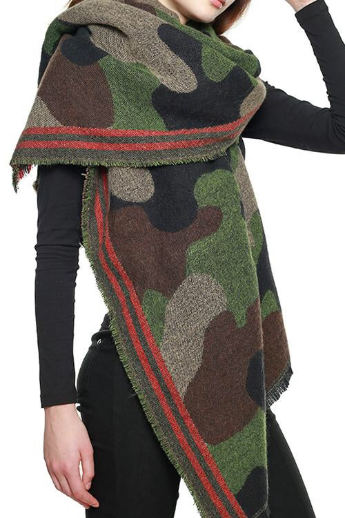 Image of Army fatigue Scarf