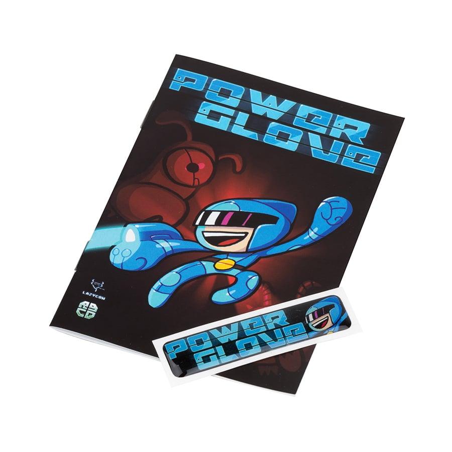 Image of Cartridge Label & Manual Upgrade Pack (Powerglove)