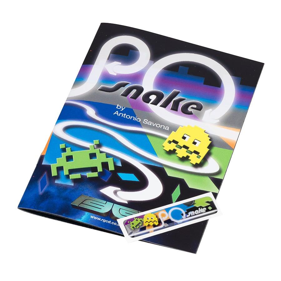 Image of Cartridge Label & Manual Upgrade Pack (P0 Snake)