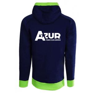 Image of Sweat capuche Junior flocage AZUR