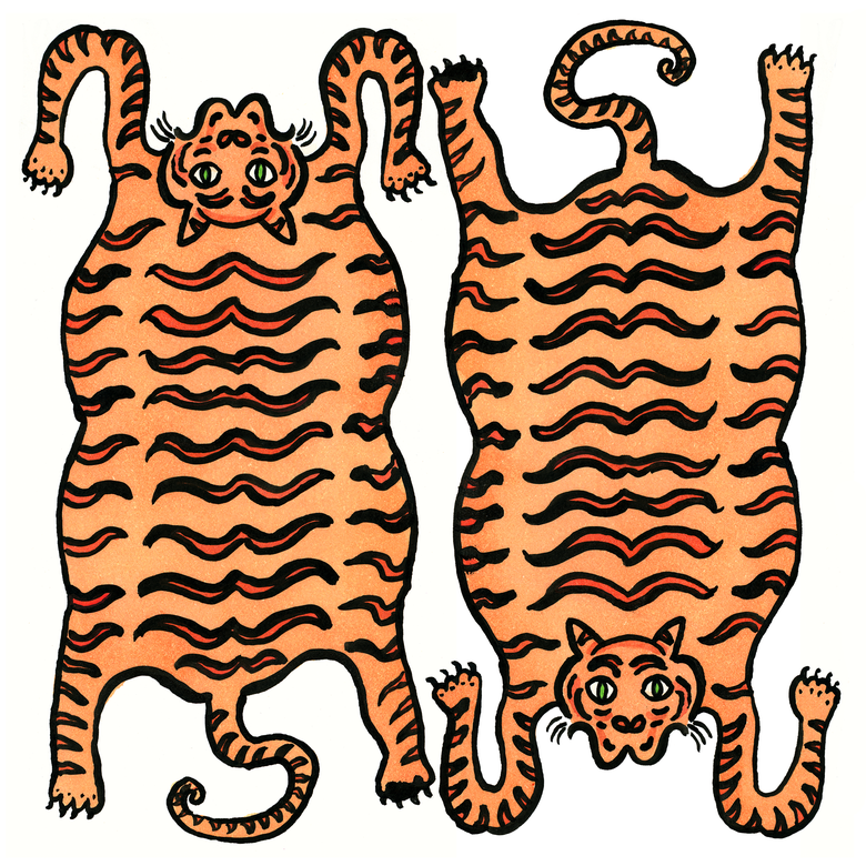 Image of Tiger Twins