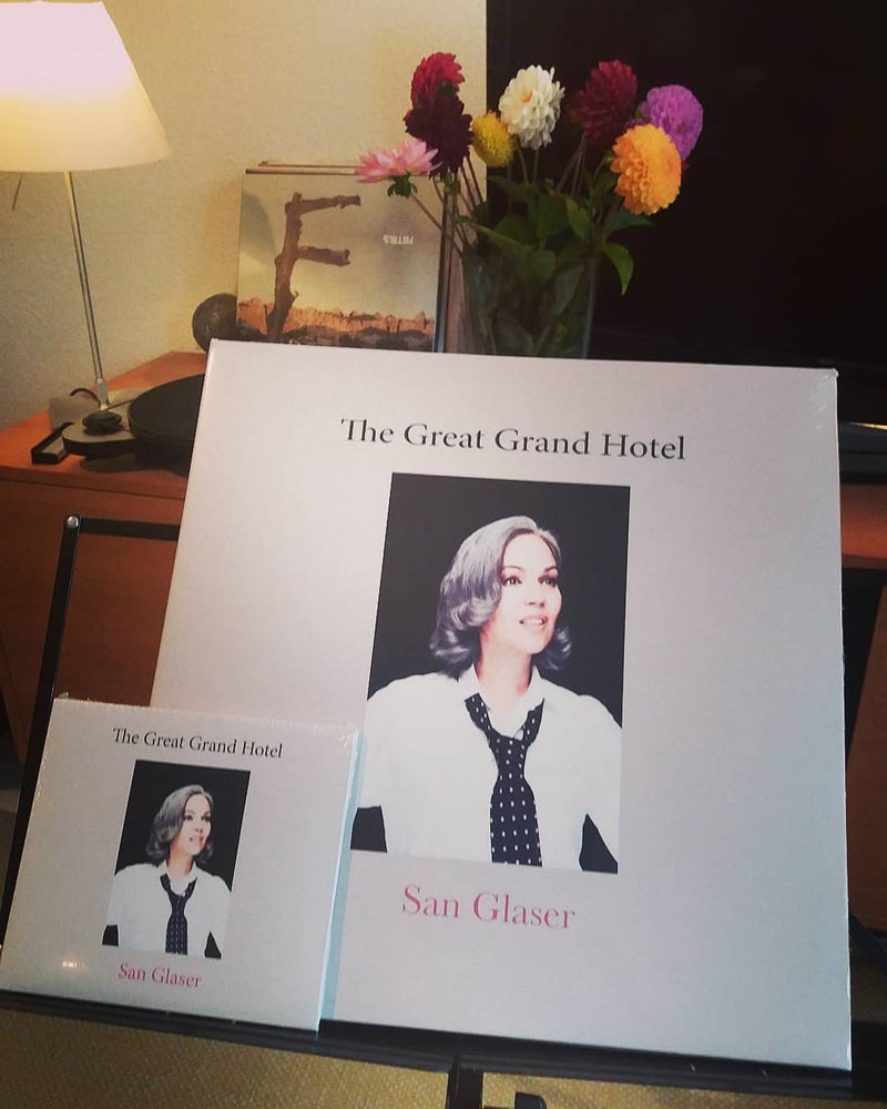 Image of The Great Grand Hotel Vinyl LP gatefold cover